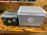 Stanley heavy duty cooler and Tahoe trails cooler