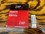 Zap 3L remote outlet switch three outlets one remote Brand new