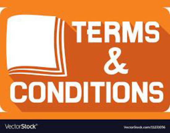 Terms and Conditions * Pickup Only Thursday October 28th In Bondurant Bring your own Manpower!!