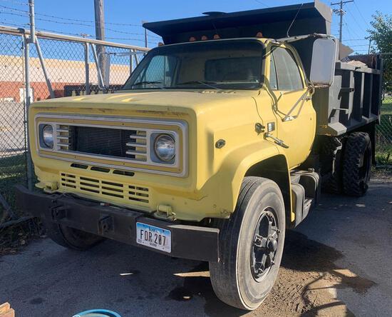 1987 GMC dump truck 38,000 miles