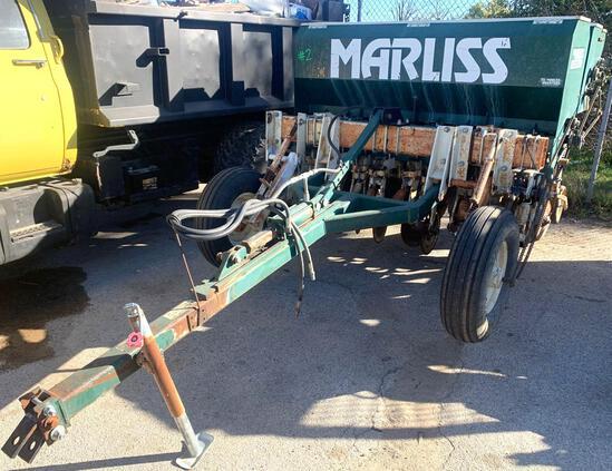 MARLEISS pasture King serial number 3770 grain drill