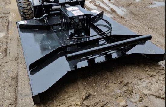 Brand New 80inch Heavy Duty Skid Steer Brush Mower