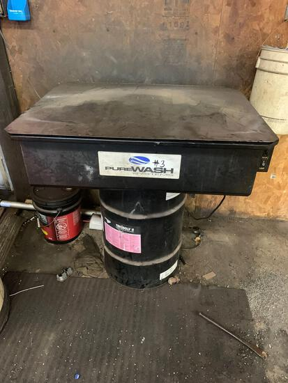 Pure wash systems parts washer