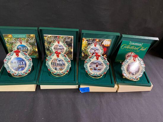 Collectors club holiday ornaments 1997 through 99 (Shari) 4 x $