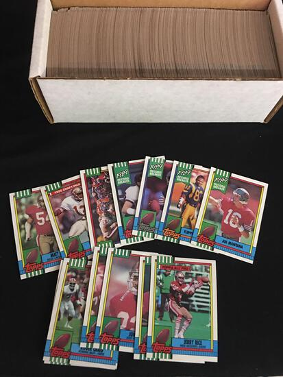 1990 Topps Football Cards