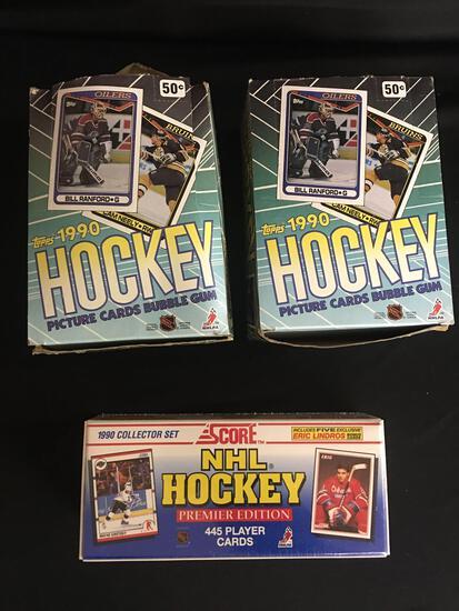 NHL Hockey Cards ,1990