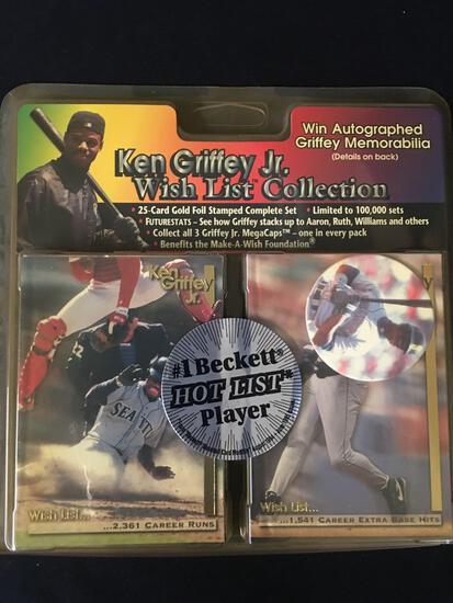 Ken Griffey Jr, Baseball Cards