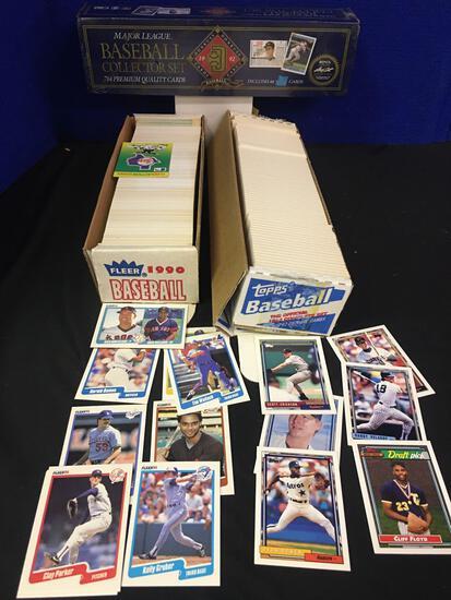 1992 Donruss , 1990 Fleer, 1992 Topps baseball cards collection