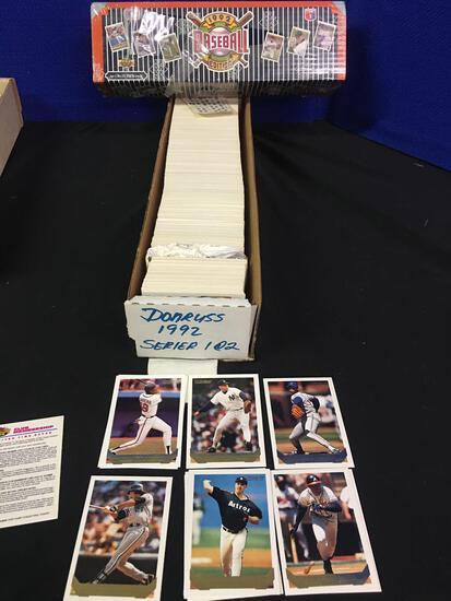 1992 DonRuss, 1992 Upper Deck baseball Cards