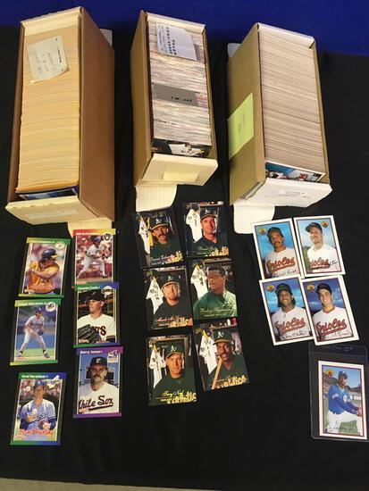 1989 DonRuss , 1989 Bowman 1994 baseball Cards