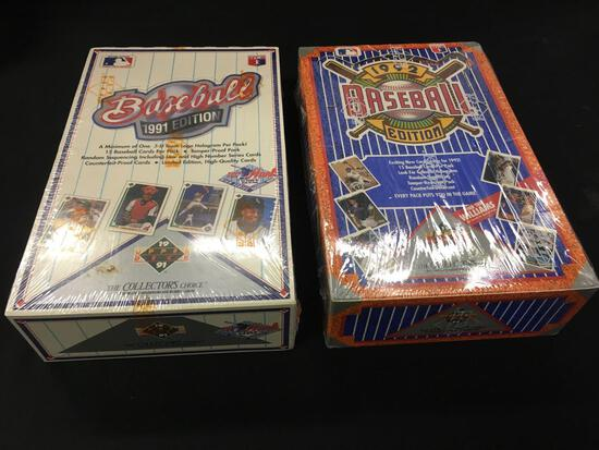 1991-92 Edition Baseball Cards unopened