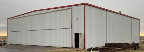 75x80 King Hanger with hanger door & operational motor plus all contents inside of building *See des
