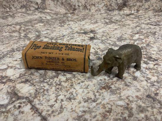 Five brothers pipe smoking tobacco vintage +1905 crane company elephant