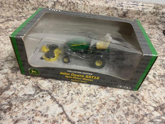 1/16th Ertl John Deere SST16 spin steer mower