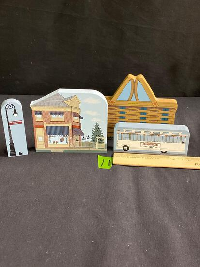 Wooden replicas of Dresden and the Homestead