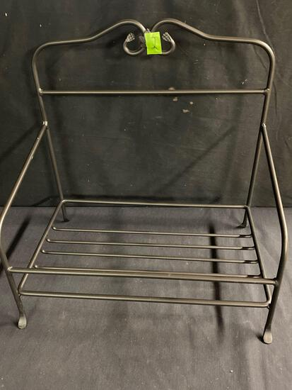 Newspaper Wrought iron Stand