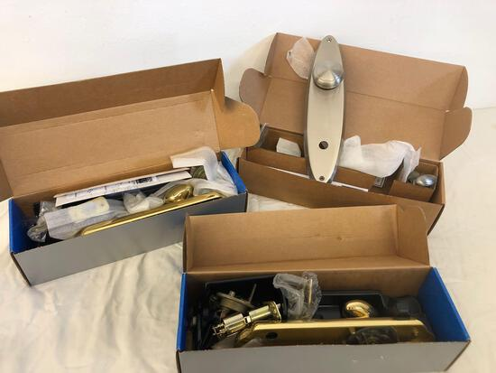 Schlage handle set, may be missing parts