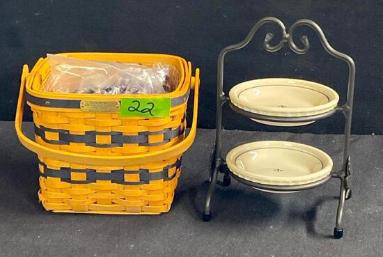 Mini Two Pie Server and Basket Combo 2 x $