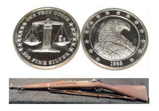 Guns, Coins, Silver Bullion Plus! Consign today!