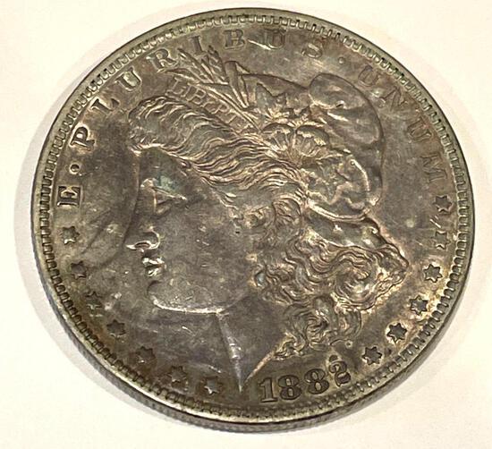 1882 Morgan Uncirculated condition