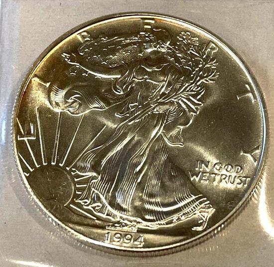 1994 American Eagle 1oz Fine Silver