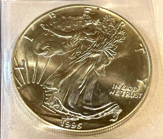 1995 American Eagle 1oz Fine Silver