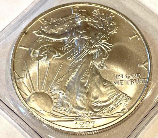 1997 American Eagle 1oz Fine Silver