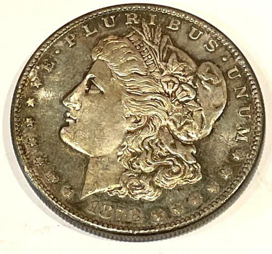 1878-S Morgan Uncirculated condition