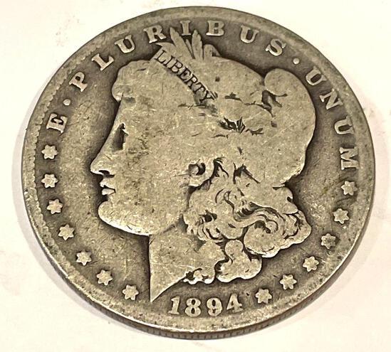 1894-O Morgan Approx F