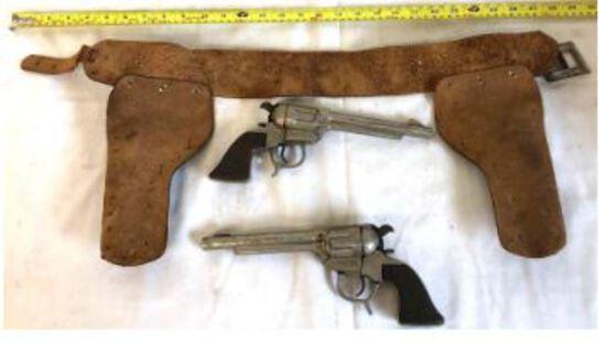 Antiques Fiestaware Rolls- Steel Pennies Toy Guns