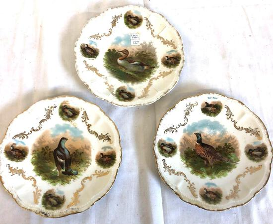 3X - Collectible plates