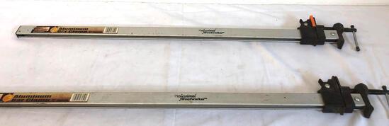 2X- aluminum bar clamps