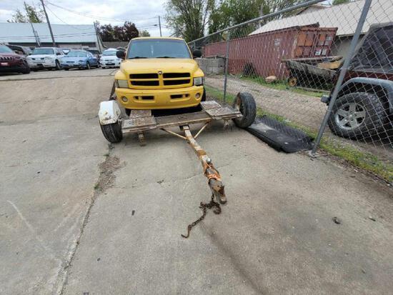 2 wheel car trailer