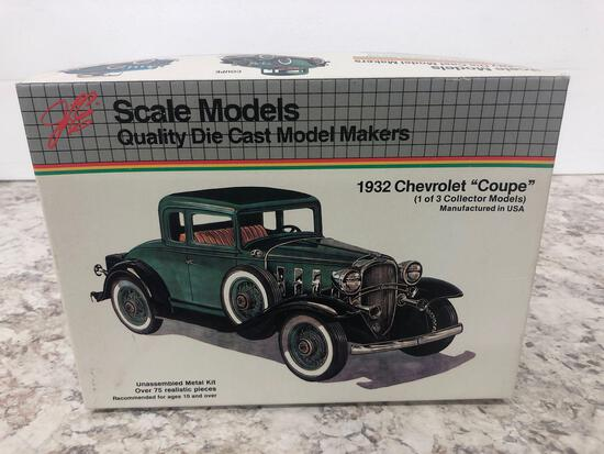 Scale Models 1932 Chevrolet ?coupe? NEW