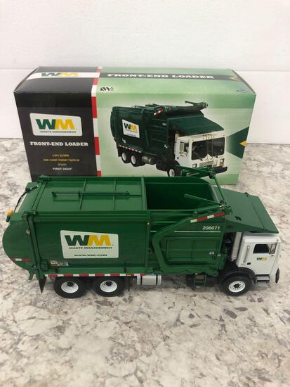 Waste Management 1:34 Scale Die-Cast Metal Replica FIRST gear