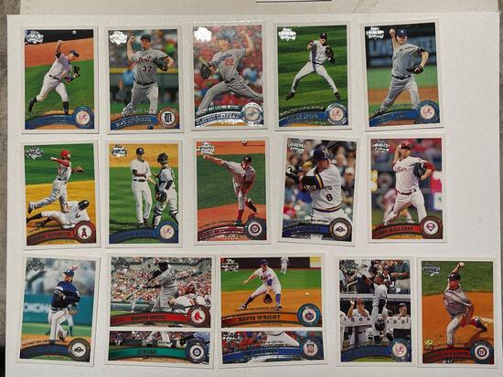 2011 Topps Diamond cards including Rodriguez, Jeter, plus see pics