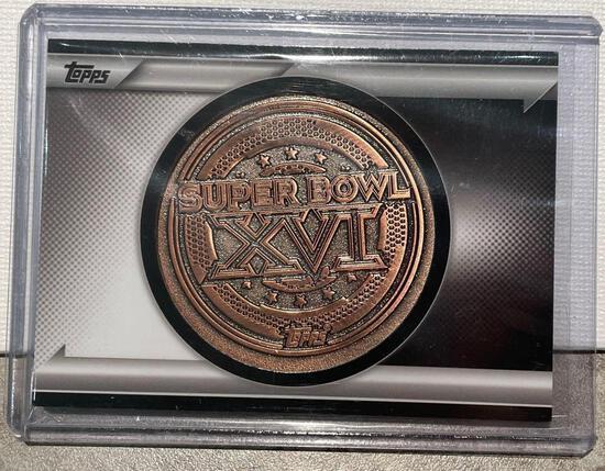 2015 Topps Super Bowl XVI Coin