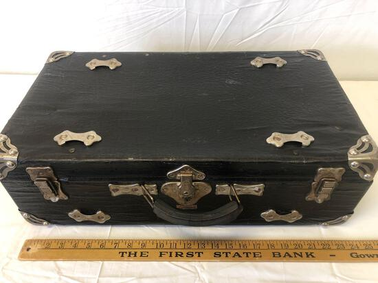 Rare 1910 SAMSONITE suitcase Shwayder Trunk MFG