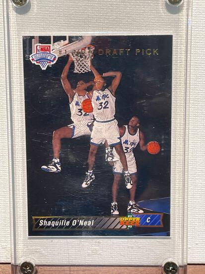 92-93 Upper Deck Shaq ONeal Rookie card