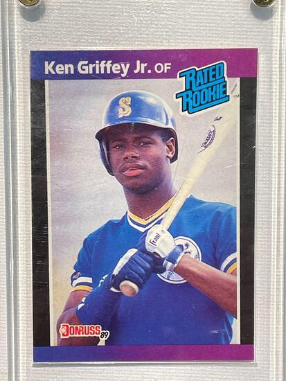 1989 Donruss Ken Griffey Jr Rookie card