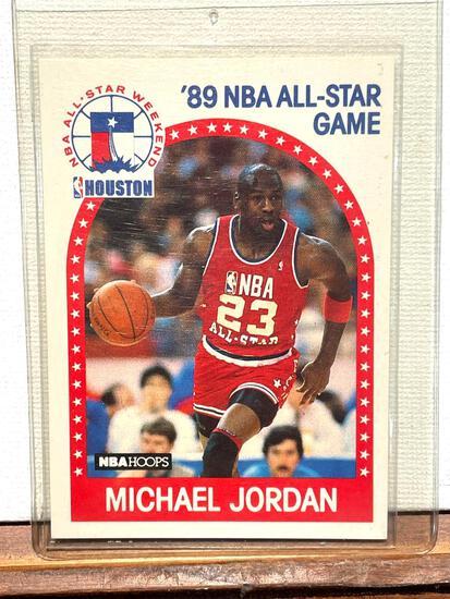 1989 NBA Hoops Michael Jordan NBA All Star Game