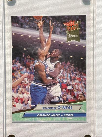 1992-93 Fleer Ultra Shaq ONeal Rookie card