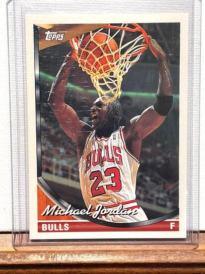 93 Topps Michael Jordan