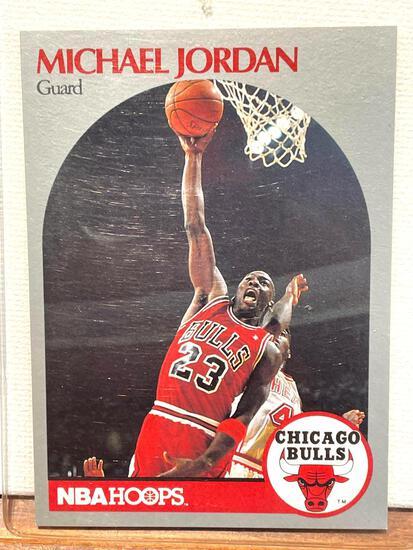 1990 NBA Hoops Michael Jordan