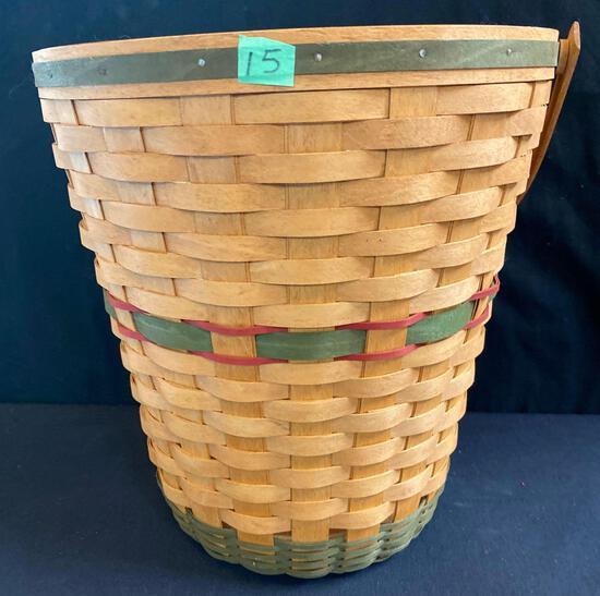 91 Christmas Basket with Protector