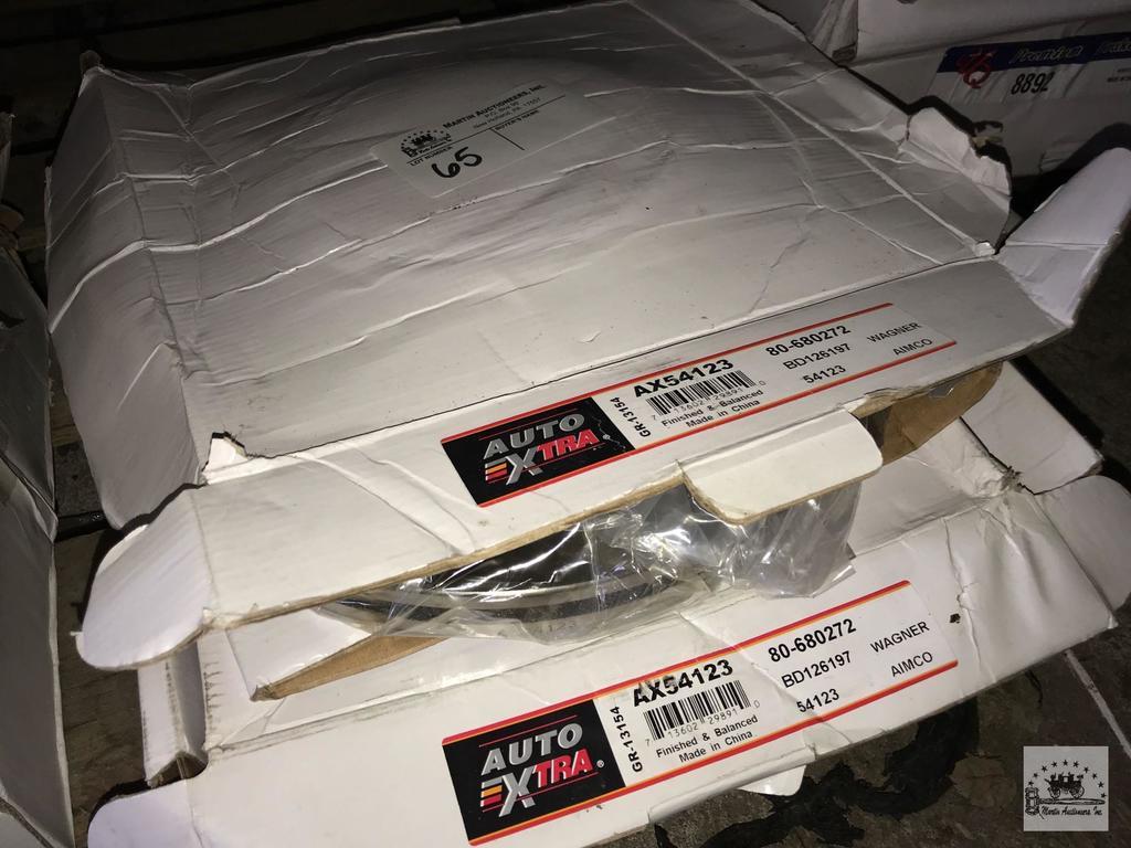 Lot: Auto Xtra Brake Rotors | Proxibid Auctions