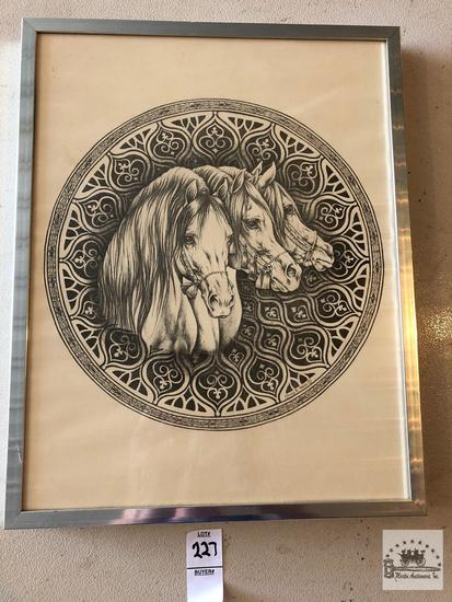 Framed Drawing