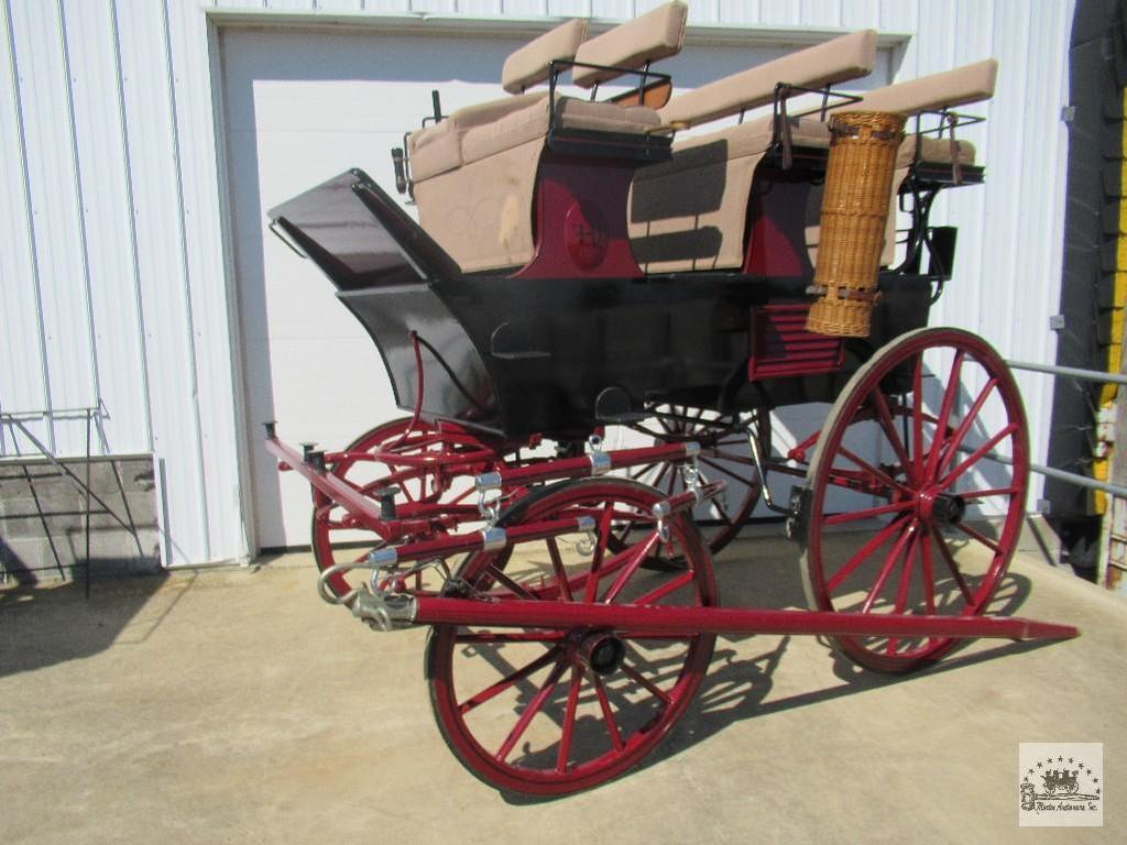 Horse Drawn Carriage, Appointment Tack, & Equip.