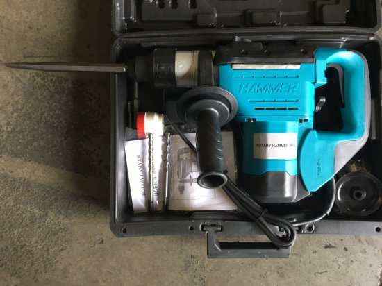"""1"""" Electric Rotary Hammer"""