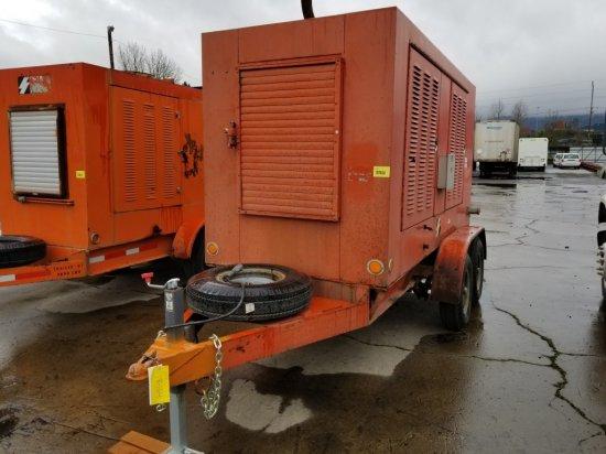 Waukesha F673 Towable Generator | Heavy Construction